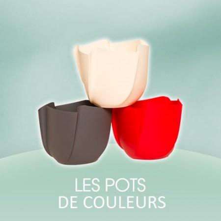 Nos pots de couleurs